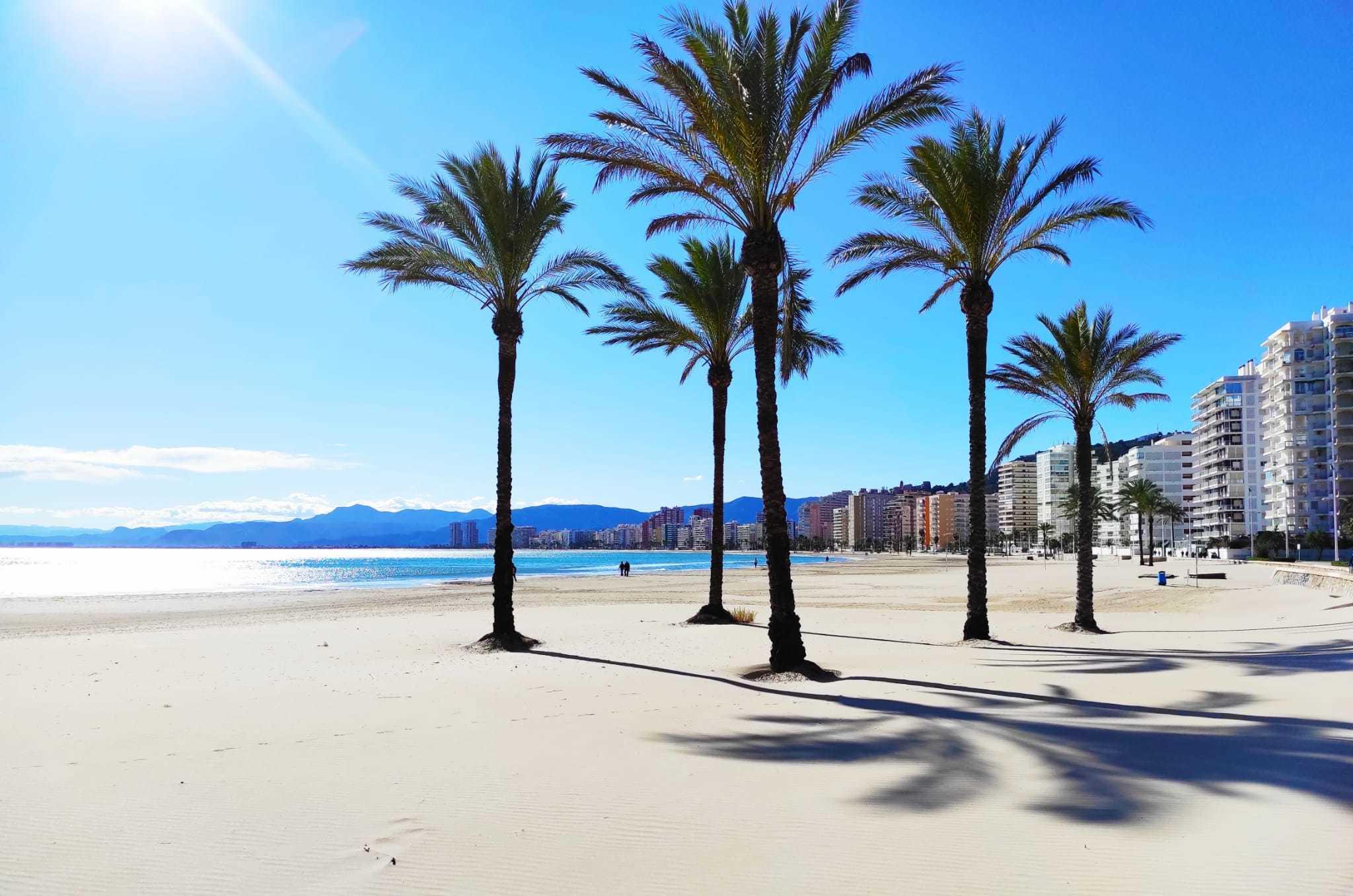Playas de Cullera arena fina calma