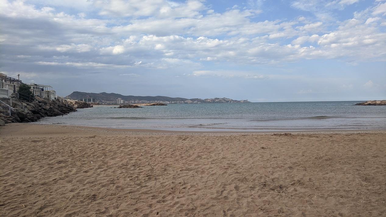 Playa estany vistas a Cullera